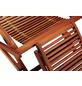 MERXX Gartenliege »Copa Cabana«, Gestell: Eukalyptusholz, inkl. Auflage-Thumbnail