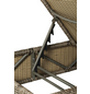 MERXX Gartenliege »Toskana«, Gestell: Aluminium, inkl. Auflage-Thumbnail