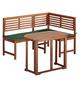 MERXX Gartenmöbel, 3 Sitzplätze, inkl. Auflagen-Thumbnail