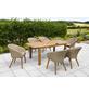 Gartenmöbel »Aronne«, 6 Sitzplätze, inkl. Auflagen-Thumbnail