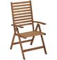 MERXX Gartenmöbel »Borkum«, 4 Sitzplätze, inkl. Auflagen, Hartholz-Thumbnail