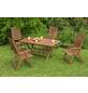 Gartenmöbel »Cordoba«, 4 Sitzplätze, aus Eukalyptusholz-Thumbnail