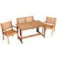 MERXX Gartenmöbel »Cordoba«, 4 Sitzplätze, Eukalyptus-Thumbnail