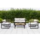 MERXX Gartenmöbel-Eckset »Mykonos«, 4 Sitzplätze, inkl. Auflagen-Thumbnail