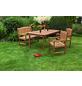 MERXX Gartenmöbel »Lima«, 4 Sitzplätze, aus Eukalyptusholz-Thumbnail