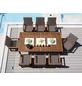 MERXX Gartenmöbel »Montana«, 8 Sitzplätze, inkl. Auflagen-Thumbnail