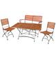 Gartenmöbelset, 4 Sitzplätze-Thumbnail