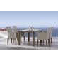BEST Gartenmöbelset »Alicante«, 4 Sitzplätze, inkl. Auflagen, aus Teakholz-Thumbnail
