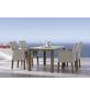BEST Gartenmöbelset »Alicante«, 4 Sitzplätze, inkl. Auflagen, Teak-Thumbnail
