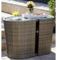MERXX Gartenmöbelset »Ancona«, 2 Sitzplätze, inkl. Auflagen-Thumbnail