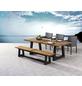 BEST Gartenmöbelset »Campinone«, 6 Sitzplätze, inkl. Auflagen, Teak-Thumbnail