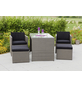 MERXX Gartenmöbelset »Merano«, 4 Sitzplätze, inkl. Auflagen-Thumbnail