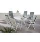 BEST Gartenmöbelset »Santiago«, 6 Sitzplätze, inkl. Auflagen-Thumbnail