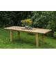 MERXX Gartentisch »Capri«, mit Akazienholz-Tischplatte, BxTxH: 180 x 100 x 74 cm-Thumbnail