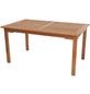 MERXX Gartentisch »Lima«, mit Eukalyptusholz-Tischplatte, BxTxH: 150 x 90 x 74 cm-Thumbnail