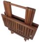 GARDEN PLEASURE Gartentisch »Los Angeles«, mit Holz-Tischplatte, BxTxH: 50 x 50 x 51 cm-Thumbnail