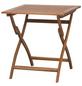 SIENA GARDEN Gartentisch, mit Akazienholz-Tischplatte, BxTxH: x 70 x 74 cm-Thumbnail