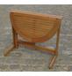 Gartentisch, mit Eukalyptusholz-Tischplatte, BxTxH: 90 x 60 x 74 cm-Thumbnail