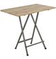 Gartentisch mit Kiefernholz-Tischplatte, BxLxH: 80x120x118 cm-Thumbnail