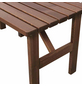 Fun Star Gartentisch »Tessin«, mit Nadelholz/Kiefernholz-Tischplatte, BxTxH: 150 x 73 x 74 cm-Thumbnail