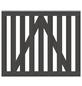TraumGarten Gartentor »RAJA WPC«, HxL: 85 x 101 cm, anthrazit-Thumbnail