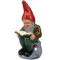 HEISSNER Gartenzwerg, der Bücherwurm Wilhelm, Höhe: 30  cm, Keramik, bunt-Thumbnail