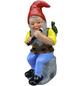 HEISSNER Gartenzwerg, Der Flötenspieler Wendelin, Höhe: 31  cm, Keramik, bunt-Thumbnail