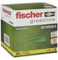 FISCHER Gasbetondübel, GB GREEN, Nylon, 20 Stück, 8 mm-Thumbnail