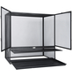 EXO TERRA Gaze Terrarium, Screen Terrarium, 90 x 45 x 90 cm, 1x Substratwanne enthalten-Thumbnail