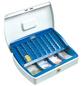 BURG WÄCHTER Geldkassette »Office«, mit Zylinderschloss, 25,5 x 7,5 x 20 cm-Thumbnail