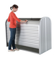 BIOHORT Gerätebox »StoreMax«, aus Aluminium und Stahlblech, 117x109x73cm (BxHxT), 740 Liter-Thumbnail