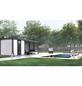 WOLFF FINNHAUS Gerätehaus »Eleganto 2424«, Flachdach-Thumbnail
