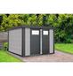 WOLFF FINNHAUS Gerätehaus »Eleganto 2724«, Außenmaße (BxT): 268 x238  cm-Thumbnail