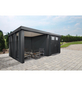 WOLFF FINNHAUS Gerätehaus »Eleganto 3024«, 30,8 m³, BxT: 582 x 238 cm mit Lounge-Thumbnail