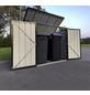 GLOBEL Gerätehaus »Globel«, aus verzinktem Stahl, 174x116x101cm (BxHxT), 480 Liter-Thumbnail
