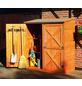 PROMADINO Geräteschrank, BxHxT: 149 x 163 x 78 cm, braun-Thumbnail