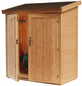 WOLFF FINNHAUS Geräteschrank »Premium Gartenschrank«, BxT: 191.8 x 102.6 cm (Aufstellmaße), Pultdach-Thumbnail