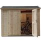 WOLFF FINNHAUS Geräteschrank »Premium Gartenschrank«, BxT: 260 x 103 cm (Aufstellmaße), Pultdach-Thumbnail