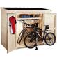 WOLFF FINNHAUS Geräteschrank »Premium Gartenschrank«, BxT: 260 x 122 cm (Aufstellmaße), Pultdach-Thumbnail
