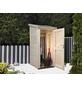 WOLFF FINNHAUS Geräteschrank »Premium Gartenschrank«, BxT: 90 x 103 cm (Aufstellmaße), Pultdach-Thumbnail
