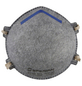 CONNEX Geruchschutzmaske, FFP2, Grau, Stoff-Thumbnail