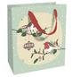 Geschenktasche Bird Romance, 18x21x8 cm, matt-Thumbnail