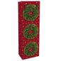 Geschenktasche Festlicher Kranz, 12x37x8 cm, glänzend-Thumbnail