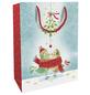 Geschenktasche Mistletoe Kiss, 25x33x11 cm, glänzend-Thumbnail