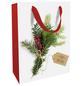 Geschenktasche Weihnachtsgrün, 25x33x11 cm, matt-Thumbnail
