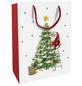 Geschenktasche X-mas Eve, 25x33x11 cm, glänzend-Thumbnail