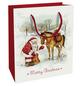 Geschenktasche Zauber der Weihnacht, 18x21x8 cm, glänzend-Thumbnail