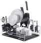 ZELLER Geschirrabtropfständer, mit Besteckkorb, Metall-Thumbnail