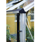 JULIANA Gewächshaus »Gärtner«, B x L x H: 368  x 583  x 287  cm, Aluminium-Thumbnail