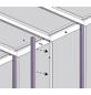 VITAVIA Gewächshaus »Helena«, B x L x H: 265,9  x 334,3  x 238,8  cm, Aluminium/Glas-Thumbnail